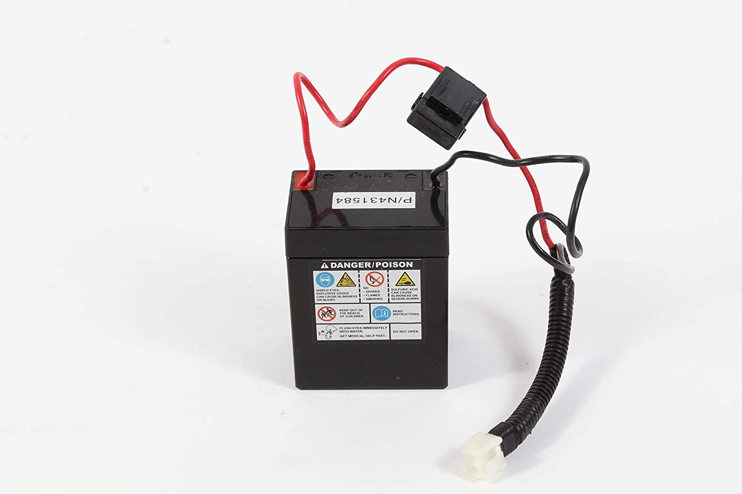 craftsman lawn mower battery replacement